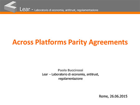 Across Platforms Parity Agreements